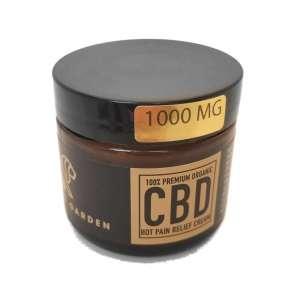 BABYLONS GARDEN CBD Hot Pain Relief Cream – 1000mg