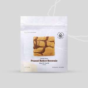 THE COOKIE FACTORY Peanut Butter Brownie 350mg