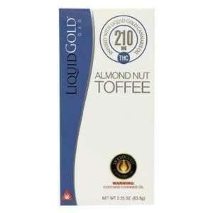 Almond Nut Toffee -Liquid Gold Chocolate