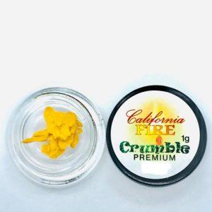 California Fire Premium 1G Crumble -Blue Cheese